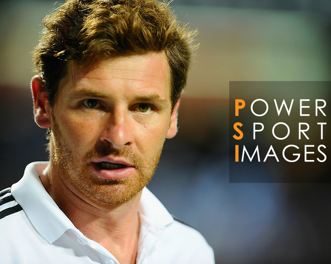 SO KON PO, HONG KONG - JULY 30: Andre Villas-Boas of Chelsealooks on during the Asia Trophy Final match against Aston Villa at the Hong Kong Stadium on July 30, 2011 in So Kon Po, Hong Kong.  Photo by Victor Fraile / The Power of Sport Images
