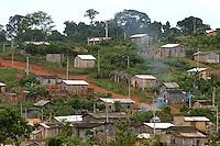 Um dia após o enterro da missionária americana Dorothy Mae Stang, assassinada último dia 12/02,  agentes das polícias civil, federal e militar  em busca de informações na região.<br /> O clima é tenso  após o assassinato da religiosa ocorrido no municÌpio.<br /> Irmã Dorothy, 73 anos  vinte oito dos quais na Amazônia foi sassinada brutalmente as 7: 30 de 12/02/2005 quando saia de uma casa no PDS Esperança.<br /> Anapú, Pará, BrasilFoto Paulo Santos/Interfoto16/02/2005 Periferia de Anapú.
