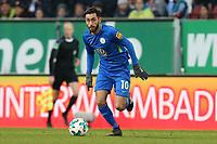 Yunus Malli #10 (VfL Wolfsburg), FC Augsburg vs. VfL Wolfsburg, 1.Bundesliga, 25.11.2017 *** Local Caption *** © pixathlon<br /> Contact: +49-40-22 63 02 60 , info@pixathlon.de