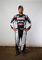 Mar. 21, 2014; Chandler, AZ, USA; LOORRS pro 2 driver Jeremy McGrath poses for a portrait prior to round one at Wild Horse Motorsports Park. Mandatory Credit: Mark J. Rebilas-USA TODAY Sports