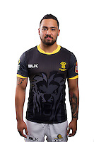 Matt Proctor. Wellington Lions ITM Cup official headshots at Rugby League Park, Wellington, New Zealand on Thursday, 30 July2015. Photo: Dave Lintott / lintottphoto.co.nz