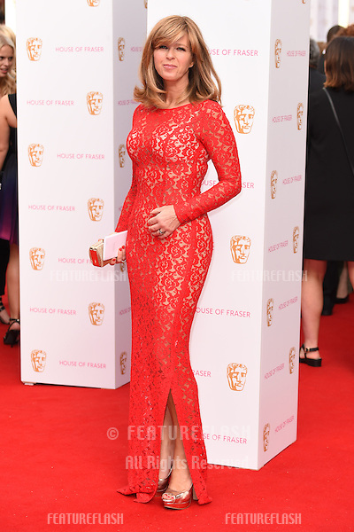 Kate Garaway<br /> arrives for the 2015 BAFTA TV Awards at the Theatre Royal, Drury Lane, London. 10/05/2015 Picture by: Steve Vas / Featureflash
