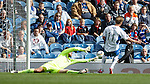 Iain Russell scores the second goal for QoS