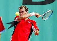 1-6-06,France, Paris, Tennis , Roland Garros, Benneteau