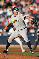 Trenton Thunder pitcher Craig Heyer #31 during a game against the Akron Aeros at Canal Park on July 26, 2011 in Akron, Ohio.  Trenton defeated Akron 4-3.  (Mike Janes/Four Seam Images)