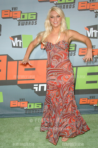 BROOKE HOGAN at the VH1 Big in '06 Awards at Sony Studios, Culver City..December 2, 2006  Culver City, CA.Picture: Paul Smith / Featureflash