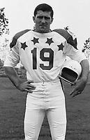 Larry Fairholm 1970 Canadian Football League Allstar team. Copyright photograph Ted Grant/