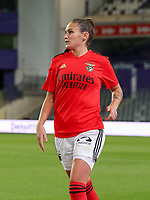 Ana Rita Seiça (3 Benfica) pictured during a female soccer game between RSC Anderlecht Dames and Portugese Benfica Ladies  in the second qualifying round for the Uefa Womens Champions League of the 2020 - 2021 season , Wednesday 18 th of November 2020  in ANDERLECHT , Belgium . PHOTO SPORTPIX.BE | SPP | SEVIL OKTEM