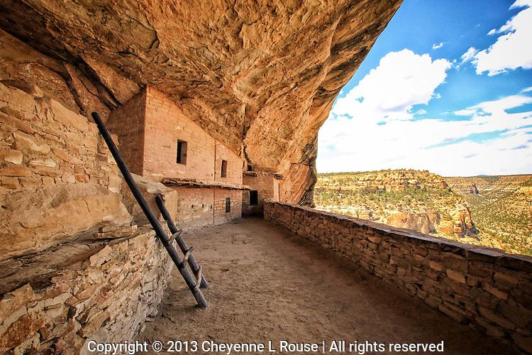 Balcony House View - Colorado - Mesa Verde National Park