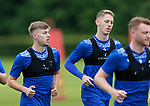St Johnstone Training...02.07.21<br />New loan signings Hayden Muller (right) and Reece Devine pictured in training today<br />Picture by Graeme Hart.<br />Copyright Perthshire Picture Agency<br />Tel: 01738 623350  Mobile: 07990 594431