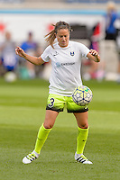 Chicago, IL - Sunday Sept. 04, 2016: Lauren Barnes prior to a regular season National Women's Soccer League (NWSL) match between the Chicago Red Stars and Seattle Reign FC at Toyota Park.