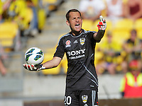 130224 A-League Football - Wellington Phoenix v Adelaide United