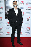 """HOLLYWOOD, CA - NOVEMBER 12: Sammy Sheik at the AFI FEST 2013 - """"Lone Survivor"""" Premiere held at TCL Chinese Theatre on November 12, 2013 in Hollywood, California. (Photo by David Acosta/Celebrity Monitor)"""