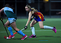 Action from the girls' premier one Wellington Hockey match between Samuel Marsden School and Tawa College at National Hockey Stadium in Wellington, New Zealand on Friday, 28 May 2021. Photo: Dave Lintott / lintottphoto.co.nz