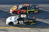 Monster Energy NASCAR Cup Series<br /> Daytona 500<br /> Daytona International Speedway, Daytona Beach, FL USA<br /> Sunday 18 February 2018<br /> Brendan Gaughan, Beard Motorsports, Beard Oil Distributing/ South Point Hotel & Casino Chevrolet Camaro, Martin Truex Jr., Furniture Row Racing, Bass Pro Shops/5-hour ENERGY Toyota Camry<br /> World Copyright: John K Harrelson<br /> LAT Images