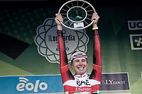 Tadej Pogacar (SVN/UAE-Emirates) wins the 115th Il Lombardia 2021 (1.UWT)<br /> <br /> One day race from Como to Bergamo (ITA/239km)<br /> <br /> ©kramon