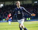 Dundee's Martin Boyle celebrates after he scores their second goal.