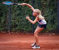 Hilversum, Netherlands, August 8, 2018, National Junior Championships, NJK, Jinte de Boer (NED)<br /> Photo: Tennisimages/Henk Koster