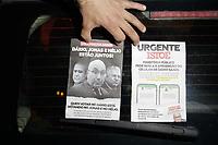 26/11/2020 - POLÍCIA APREENDE PANFLETOS COM FAKE NEWS CONTRA DÁRIO SAADI