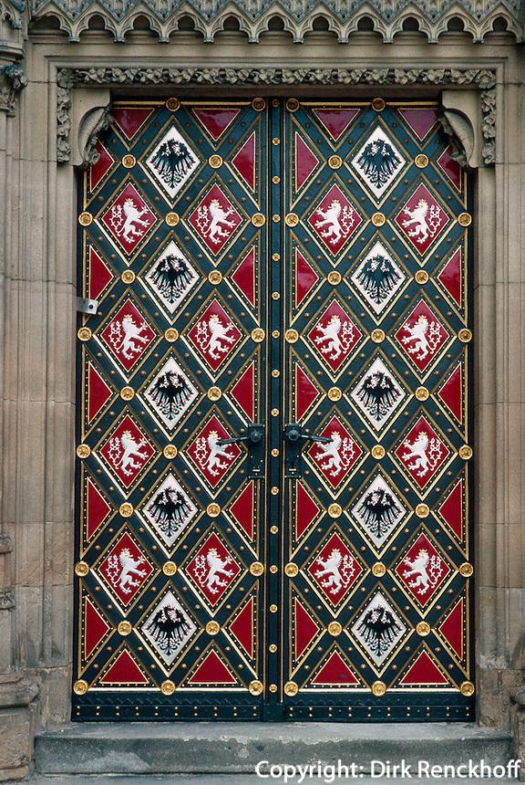 Tschechien, Prag, Vysehrad, Tor von Peter und Paul, Unesco-Weltkulturerbe