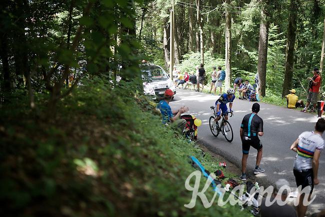 Iljo Keisse (BEL/Etixx-QuickStep)<br /> <br /> Stage 18 (ITT) - Sallanches › Megève (17km)<br /> 103rd Tour de France 2016