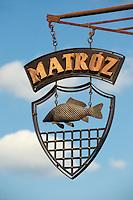 Matroz street Sign - ( Gy?r )  Gyor Hungary