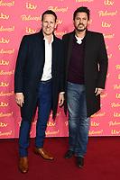 Brendon Cole and Jeremy Edwards<br /> arriving for the ITV Palooza at the Royal Festival Hall, London.<br /> <br /> ©Ash Knotek  D3532 12/11/2019
