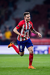 Saul Niguez Esclapez of Atletico de Madrid reacts during the UEFA Europa League 2017-18 Round of 16 (1st leg) match between Atletico de Madrid and FC Lokomotiv Moscow at Wanda Metropolitano  on March 08 2018 in Madrid, Spain. Photo by Diego Souto / Power Sport Images