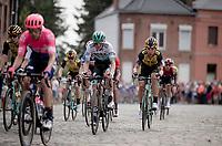 Tony Martin (DEU/Jumbo-Visma) over the cobbles<br /> <br /> Stage 1: Brussels to Brussels(BEL/192km) 106th Tour de France 2019 (2.UWT)<br /> <br /> ©kramon