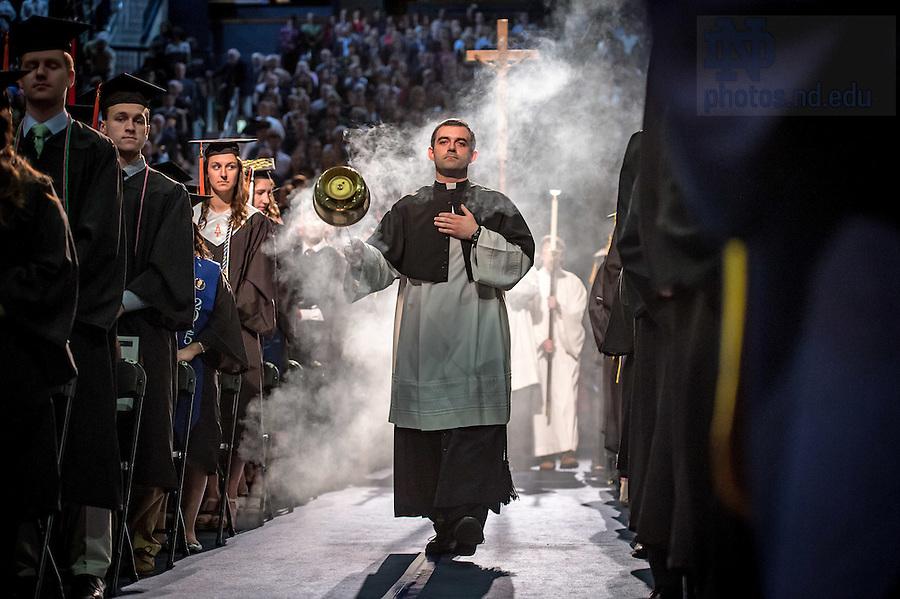 May 14, 2016; Commencement Mass. (Photo by Matt Cashore/University of Notre Dame)