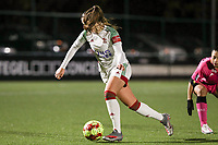 Hannah Eurlings (9 OHL) with the ball during a female soccer game between Oud Heverlee Leuven and Sporting de Charleroi on the seventh matchday of the 2020 - 2021 season of Belgian Womens Super League , sunday 15 th of November 2020  in Heverlee , Belgium . PHOTO SPORTPIX.BE | SPP | SEVIL OKTEM
