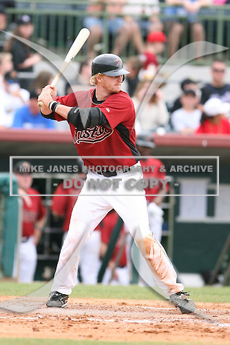 March 22nd 2008:  J.R. Towles of the Houston Astros during a Spring Training game at Osceola County Stadium in Kissimmee, FL.  Photo by:  Mike Janes/Four Seam Images