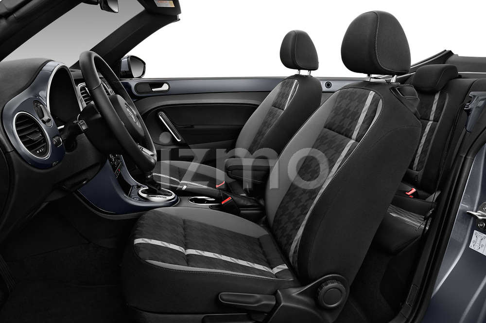 Front seat view of 2017 Volkswagen Beetle Design 2 Door Convertible Front Seat  car photos