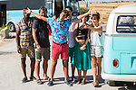 "Spanish actors Silvia Alonso, Salva Reina,Megan Montanier, David Guapo, Eduardo Casanova and Bore Buika during the filming of the movie "" Senor, dame paciencia"" directed by Alvaro Diaz. September 06, 2016. (ALTERPHOTOS/Rodrigo Jimenez)"