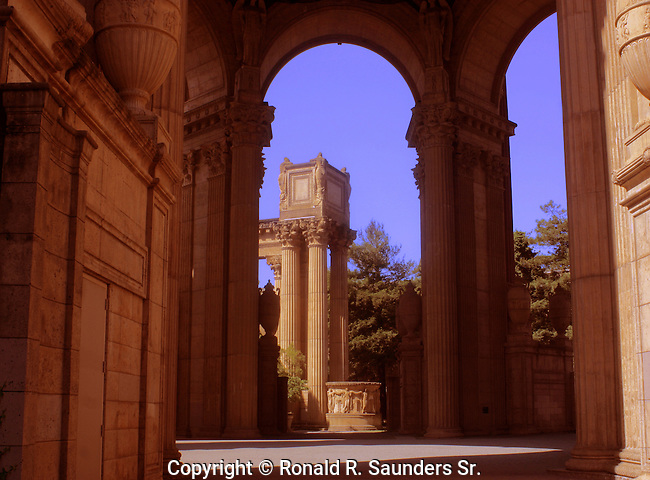 San Francisco Palace of Fine Arts exterior - California - USA