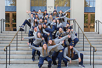 BERKELEY, CA - January 6, 2017: Cal Women's Water Polo Portraits