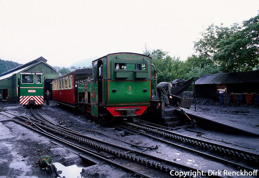 Großbritannien, Wales, Llanberis, Snowdon-Bahn