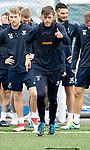St Johnstone Training…17.08.18<br />Murray Davidson pictured during training at McDiarmid Park this morning ahead of tomorrow's BetFred Cup game at Queen of the South, where he will make his 300th appearance for saints<br />Picture by Graeme Hart.<br />Copyright Perthshire Picture Agency<br />Tel: 01738 623350  Mobile: 07990 594431