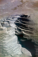 aerial photograph of Death Valley National Park, northern Mojave Desert, California