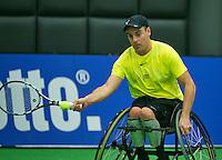 19-12-13,Netherlands, Rotterdam,  Topsportcentrum, Tennis Masters, Berry Korst (NED)<br /> Photo: Henk Koster