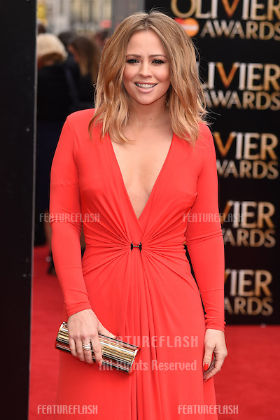 Kimberley Walsh arrives for the Olivier Awards 2015 at the Royal Opera House Covent Garden, London. 12/04/2015 Picture by: Steve Vas / Featureflash