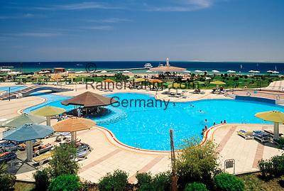 EGY, Aegypten, Safaga: Hotel Holiday Inn, Pool   EGY, Egypt, Safaga: Hotel Holiday Inn, Pool