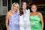 Enjoying the evening in Benners on Saturday, l to r: Susie Whyte, Nicole Commerford and Rebecca O'Halloran.