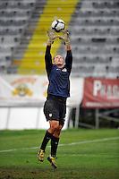Jill Loyden at the 2010 Algarve Cup