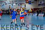 Leah Griffin  Kilmurry  NS drives to the basket against Curranes NS in the Junior NS Girls final  at the St Marys Basketball Blitz on Monday