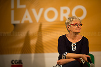"""Annamaria Furlan, General Secretary of CISL (Italian Confederation of Workers' Trade Union, 2.).<br /> <br /> Rome, 29/07/2020. Today, the three main Italian Trade Unions: CGIL (Italian General Confederation of Labour, General Secretary Maurizio Landini, 1.), CISL (Italian Confederation of Workers' Trade Union, General Secretary Anna Maria Furlan, 2.), UIL (Italian Labour Union, General Secretary Pierpaolo Bombardieri, 3.). held a demonstration in Piazza Santi Apostoli called """"La notte per il Lavoro. Ricostruire il Paese e l'Europa partendo dal buon lavoro"""" (The night for work. Rebuilding Italy and Europe from the good work). Given the crisis caused by the pandemic Covid-19 / Coronavirus, the three General Secretaries asked the Government to block layoffs, an extension of the social safety nets until the end of the year, a tax reform and the fight against tax evasion, the private and public national contractual renewals, investments, health, safety at work, Research, culture, tangible and intangible infrastructures, stable work, digitalization, South of Italy, social security, law on non self-sufficiency, social inclusion and solution of open company crises. Moreover, to urge the government to start an urgent discussion to plan the spending strategy that is about to be launched to use the resources of the EU """"Recovery Fund"""".<br /> <br /> Footnotes & Links:<br /> 1. http://cgil.it/ & https://bit.ly/2E1Al5a (Wikipedia)<br /> 2. https://www.cisl.it /& https://bit.ly/2tj5Txa (Wikipedia)<br /> 3. http://www.uil.it/ & https://bit.ly /2Glf88D (Wikipedia)<br /> 09.02.19 CGIL, CISL, UIL - Trade Unions National Demo in Rome #FuturoalLavoro http://bit.do/fG7GK"""