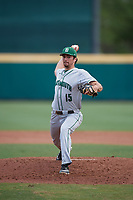 Dartmouth Big Green starting pitcher Nathan Skinner (15) delivers a pitch during a game against the USF Bulls on March 17, 2019 at USF Baseball Stadium in Tampa, Florida.  USF defeated Dartmouth 4-1.  (Mike Janes/Four Seam Images)