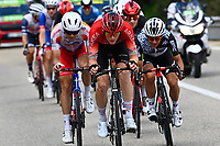 8th July 2021; Nimes, France; SWIFT Connor (GBR) of TEAM ARKEA - SAMSIC during stage 12 of the 108th edition of the 2021 Tour de France cycling race, a stage of 159,4 kms between Saint-Paul-Trois-Chateaux and Nimes.