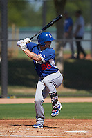 Los Angeles Dodgers Jake Henson (68) during an instructional league game against the Milwaukee Brewers on October 13, 2015 at Cameblack Ranch in Glendale, Arizona.  (Mike Janes/Four Seam Images)