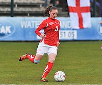 UEFA Women's Under 17 Championship - Second Qualifying round - group 1 : England - Switzerland : .Lena Bruderer..foto DAVID CATRY / Vrouwenteam.be